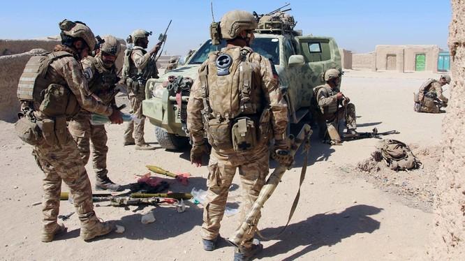 Mỹ đã sa lầy vào cuộc chiến tại Afghanistan trong nhiều thập kỷ.