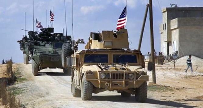 Quân đội Mỹ tại Syria.