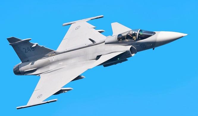 Máy bay JAS- 39 Gripen của Thụy Điển.