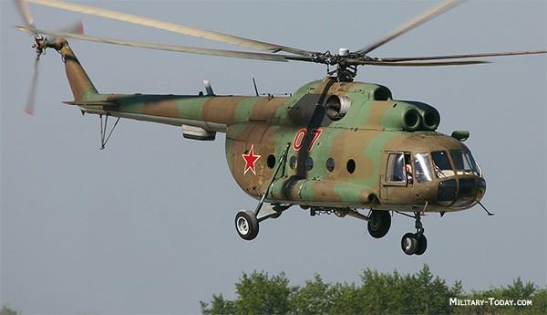 Trực thăng Mi-8.