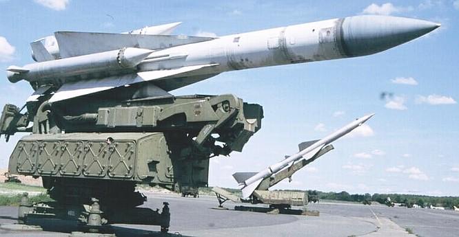 Tên lửa lỗi thời SA-5.