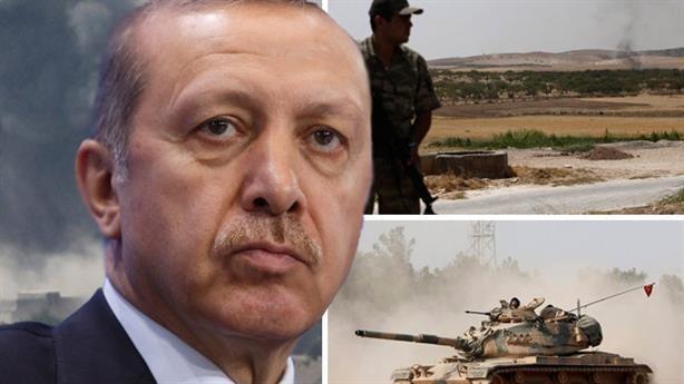 Tổng thống Erdogan đã tung quân vào Syria để đánh lại mối đe dọa người Kurd.