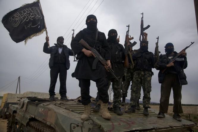 Khủng bố IS tại tỉnh Idlib.