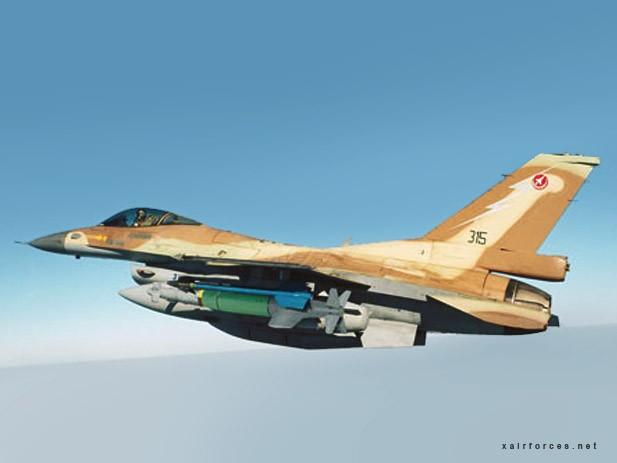 F-16 của quân đội Israel.