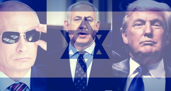Ba diễn viên chính trong khu vực Trung Đông.