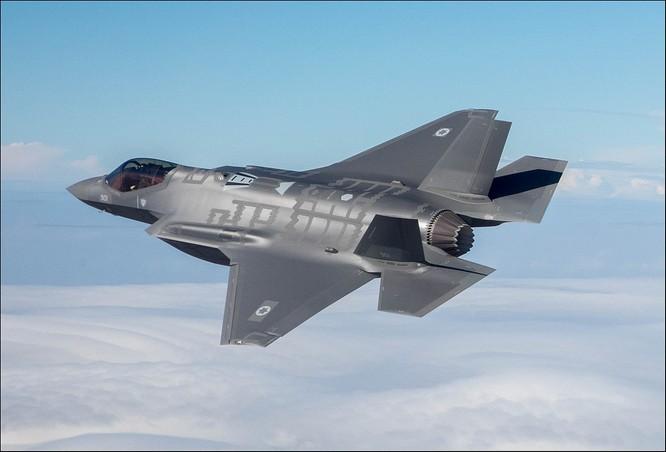 Máy bay F-35 của Israel.