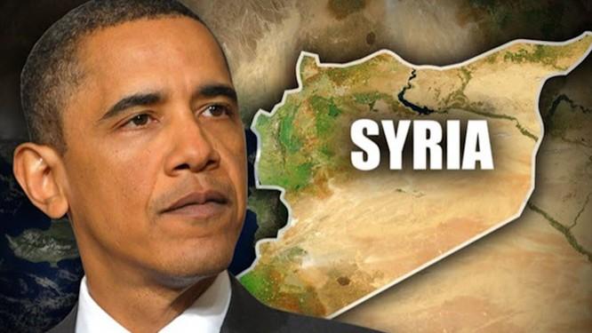 Chính quyền ông Obama đã can thiệp vào Syria với lý do chính phủ Syria sử dụng vũ khí hóa học.