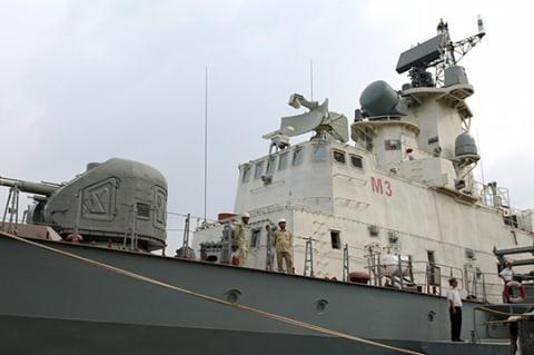 Tàu tên lửa Molniya do Nga chuyển giao công nghệ được nhà máy Ba Son đóng.
