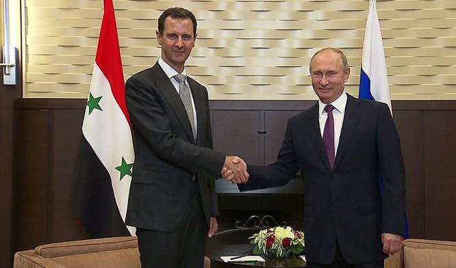 Tổng thống Putin đã quyết định tung quân vào Syria để hỗ trợ chính phủ của tổng thống Bashar al-Assad vào tháng 9.2015.