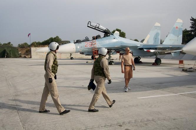 Căn cứ không quân Khmeimim của Nga.