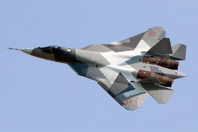 Gần đây Nga triển khai thêm cả tiêm kích Su-57 tại Syria.