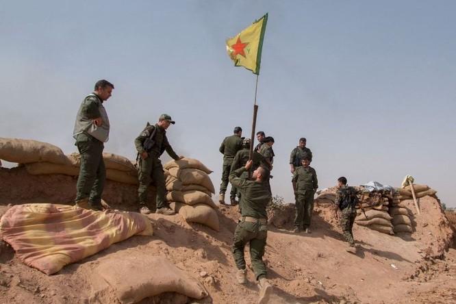 Lực lượng SDF tại miền bắc Syria.
