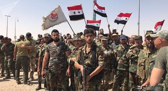 Dưới sự trợ giúp của Nga, quân đội Syria đã giành lại quyền kiểm soát nhiều vùng trên đất nước.
