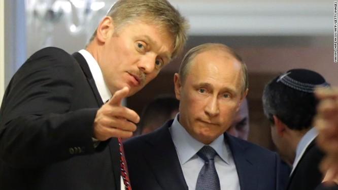 Ông Dmitry Peskov thư ký của tổng thống Nga Putin.