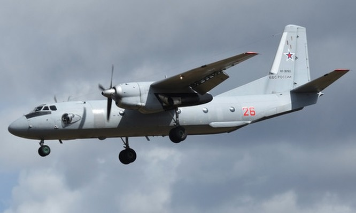 Máy bay An-26 của quân đội Nga phục vụ liên tục từ những năm 1980.