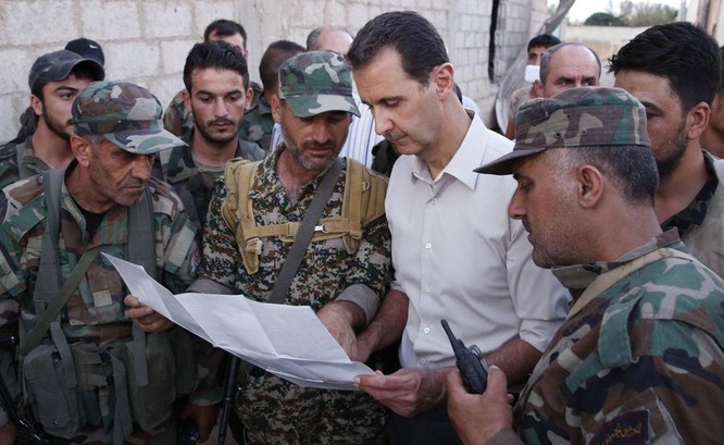 Mỹ đang ngăn đội quân ủng hộ chế độ tổng thống Assad tiến quân trên chính vùng đất của họ.