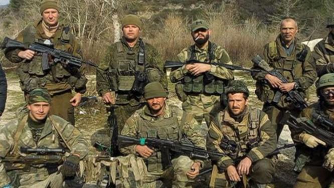 Lính đánh thuê người Nga.