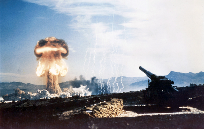 Nếu cuộc chiến Mỹ-Nga xảy ra sẽ khó ngăn khả năng hai nước leo thang sử dụng vũ khí hạt nhân.