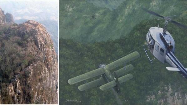 Máy bay trực thăng Bell đối đầu máy bay 2 tầng cánh Antonov-2.