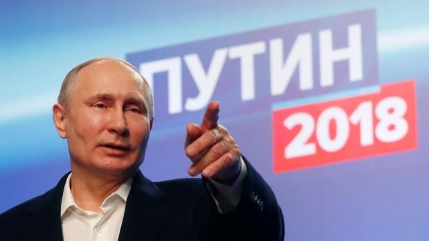 Ông Putin đã tái đắc cử tổng thống Nga trong cuộc bầu cử diễn ra ngày 18.3 vừa qua.