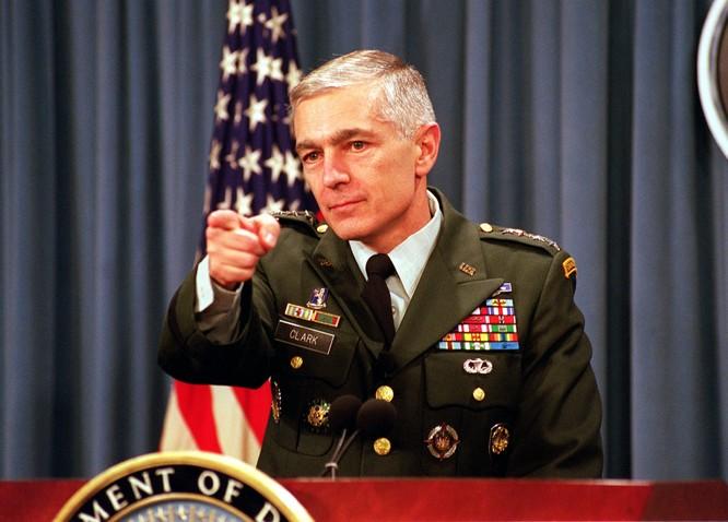Tướng Wesley Clark nhận định Washington đã thất bại.