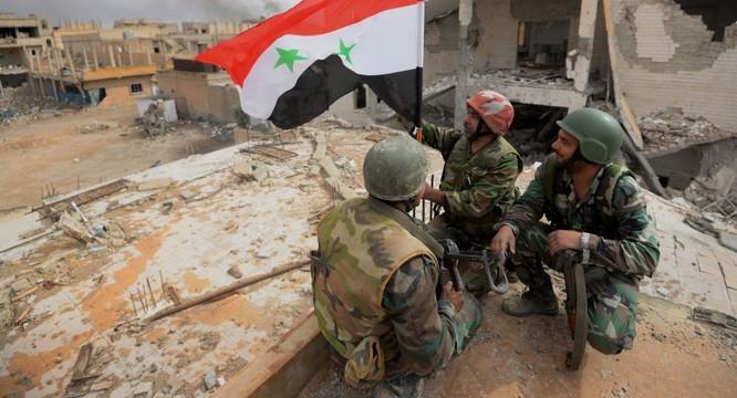 Quân đội Syria đã giải phóng Đông Ghouta.
