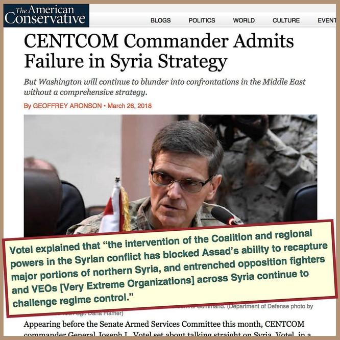 """Mỹ thách đấu """"gấu"""" Nga hay chấp nhận thua tại Syria? ảnh 3"""