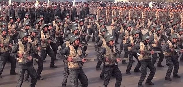 Đội quân Jaish al-Islam.