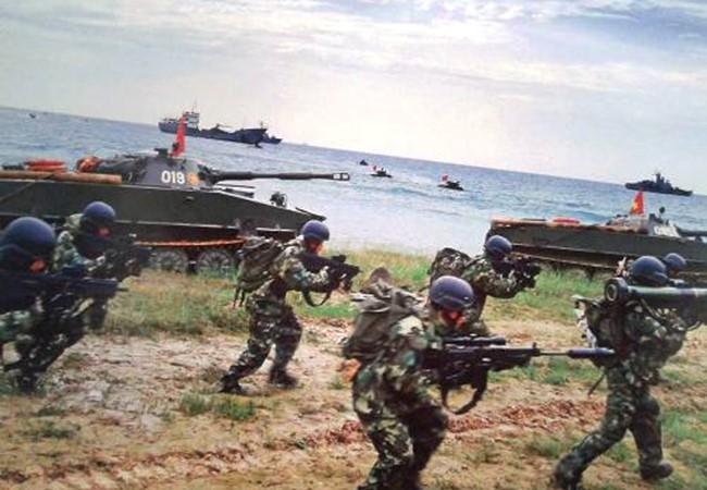 Hải quân đánh bộ Việt Nam trong một cuộc diễn tập