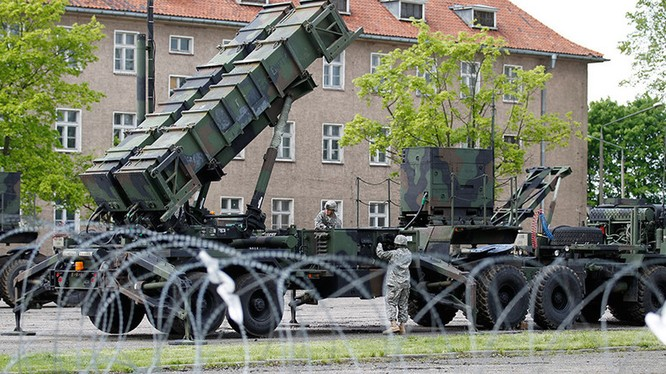Lá chắn tên lửa của Mỹ tại châu Âu.