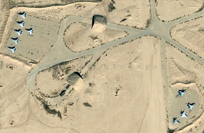 Căn cứ không quân Syria bị tấn công bằng tên lửa ảnh 1