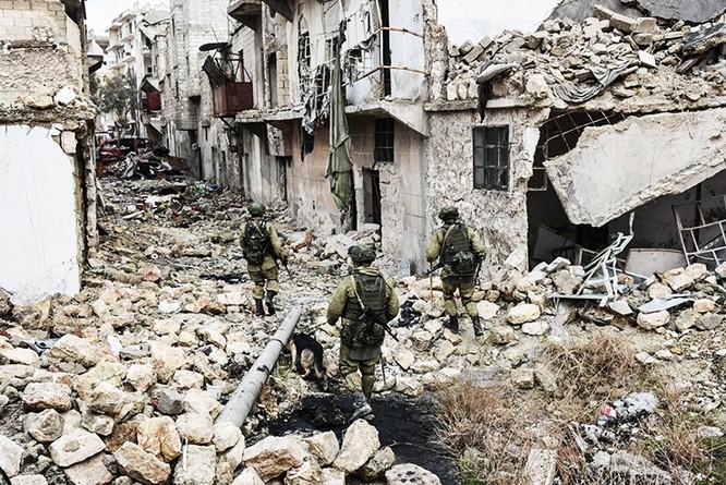 """""""Trò chơi vương quyền"""" nước lớn trên chiến trường Syria ảnh 1"""