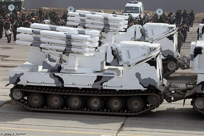 Vũ khí đánh chặn hàng loạt tên lửa Mỹ-Anh-Pháp trong cuộc tấn công Syria? ảnh 1