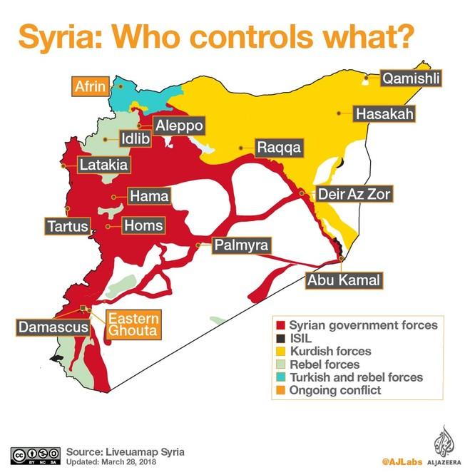 """Syria """"thập diện mai phục"""": 5 cuộc chiến nổi bật ảnh 2"""