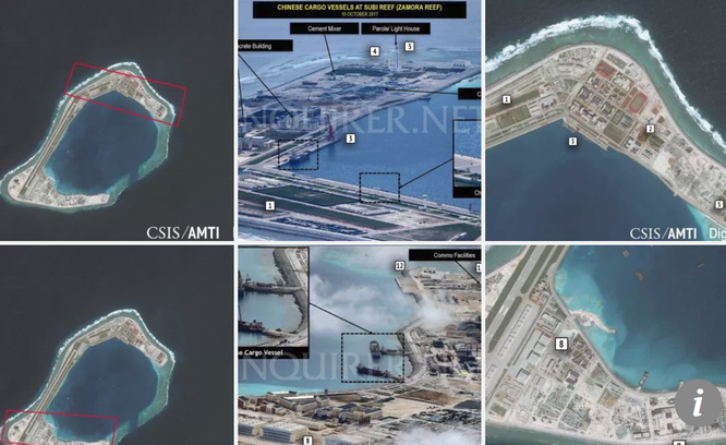 Trung Quốc triển khai tên lửa trên đảo nhân tạo ở Trường Sa? ảnh 2