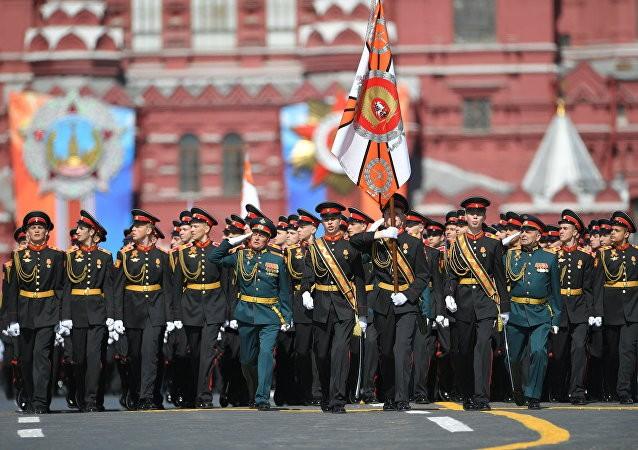 Hoành tráng Nga duyệt binh Ngày chiến thắng ảnh 1