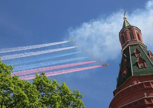 Hoành tráng Nga duyệt binh Ngày chiến thắng ảnh 10
