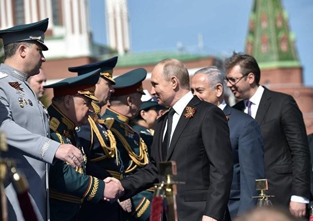 Hoành tráng Nga duyệt binh Ngày chiến thắng ảnh 11