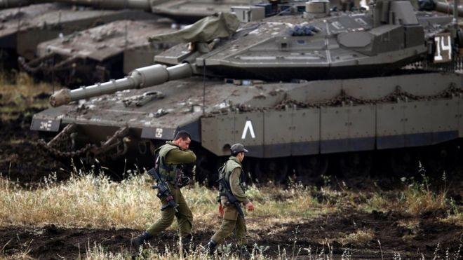 Israel tấn công hàng chục mục tiêu Iran tại Syria ảnh 1