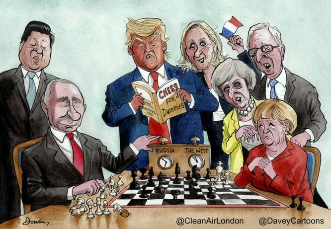 """Nga """"chiếu tướng"""" đánh sụp bá quyền Mỹ ảnh 1"""