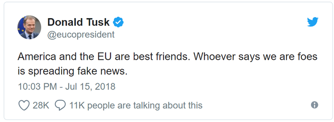 """EU sốc nặng vì bị ông Trump gọi là """"kẻ thù"""" ảnh 2"""