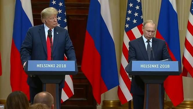 Ông Trump và ông Putin đã bàn thảo gì trong cuộc họp thượng đỉnh tại Helsinki? ảnh 3