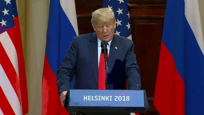 Ông Trump và ông Putin đã bàn thảo gì trong cuộc họp thượng đỉnh tại Helsinki? ảnh 4