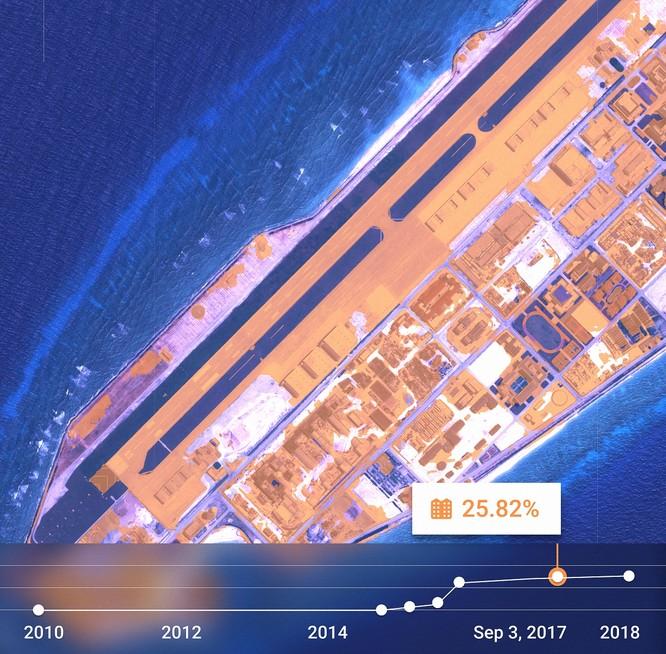"""Choáng vì đảo nhân tạo phi pháp Trung Quốc """"lớn nhanh như thổi"""" trên Biển Đông ảnh 3"""