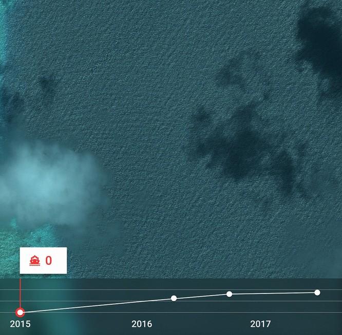"""Choáng vì đảo nhân tạo phi pháp Trung Quốc """"lớn nhanh như thổi"""" trên Biển Đông ảnh 4"""