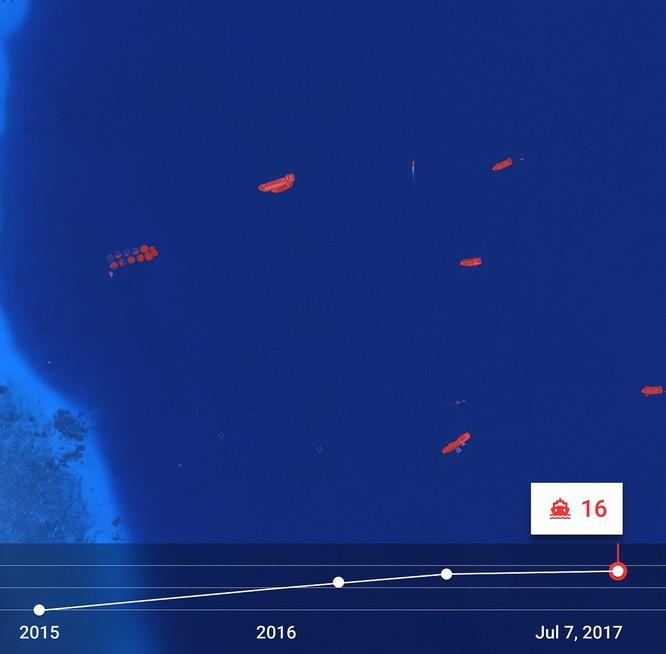 """Choáng vì đảo nhân tạo phi pháp Trung Quốc """"lớn nhanh như thổi"""" trên Biển Đông ảnh 7"""