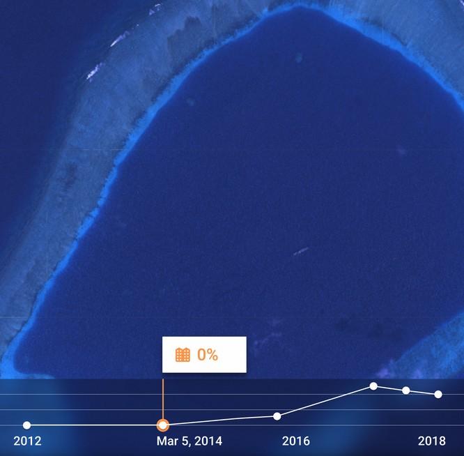 """Choáng vì đảo nhân tạo phi pháp Trung Quốc """"lớn nhanh như thổi"""" trên Biển Đông ảnh 11"""