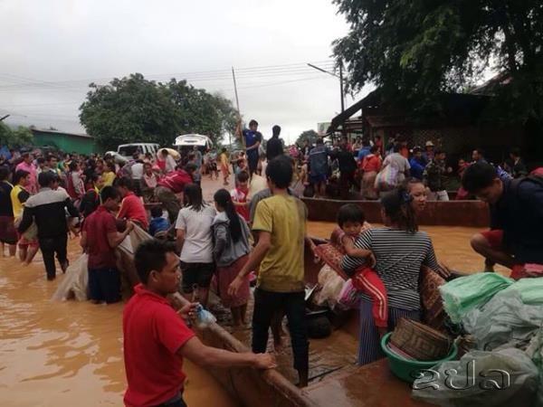Sự cố nghiêm trọng: Vỡ đập thủy điện tại Lào, cả trăm người mất tích ảnh 1