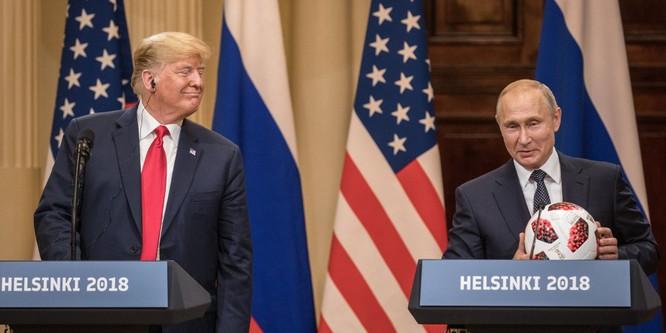 """Putin """"trên cơ"""" Trump trong ván đấu Helsinki? ảnh 1"""