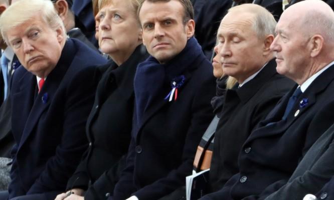 Tổng thống Putin và Trump đã trao đổi gì trong ngày kỷ niệm Thế Chiến I ảnh 1